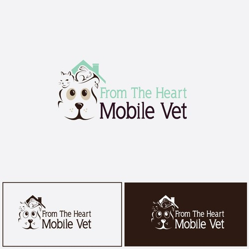 Logo concept for pet service