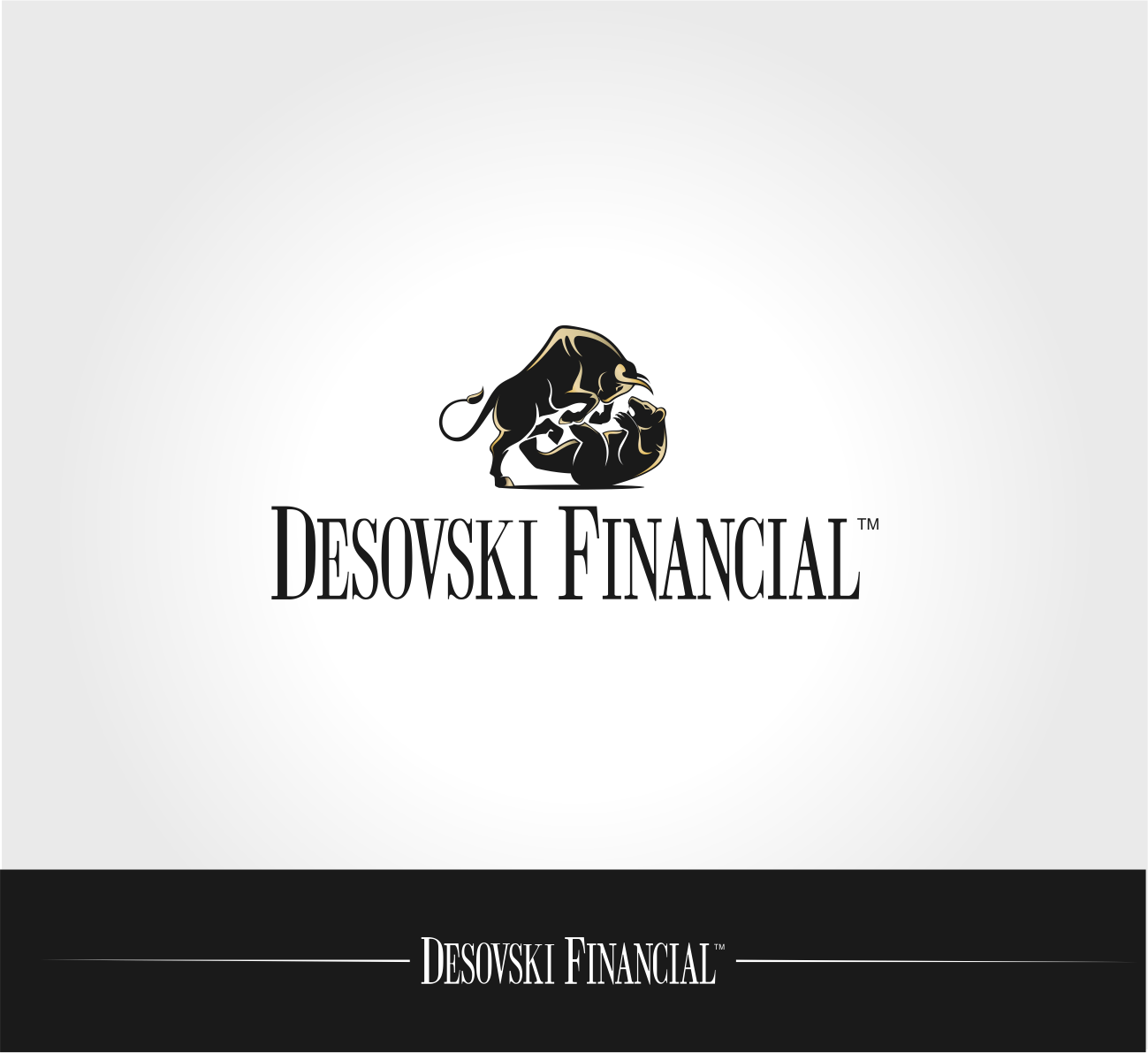 Desovski Financial needs a new logo