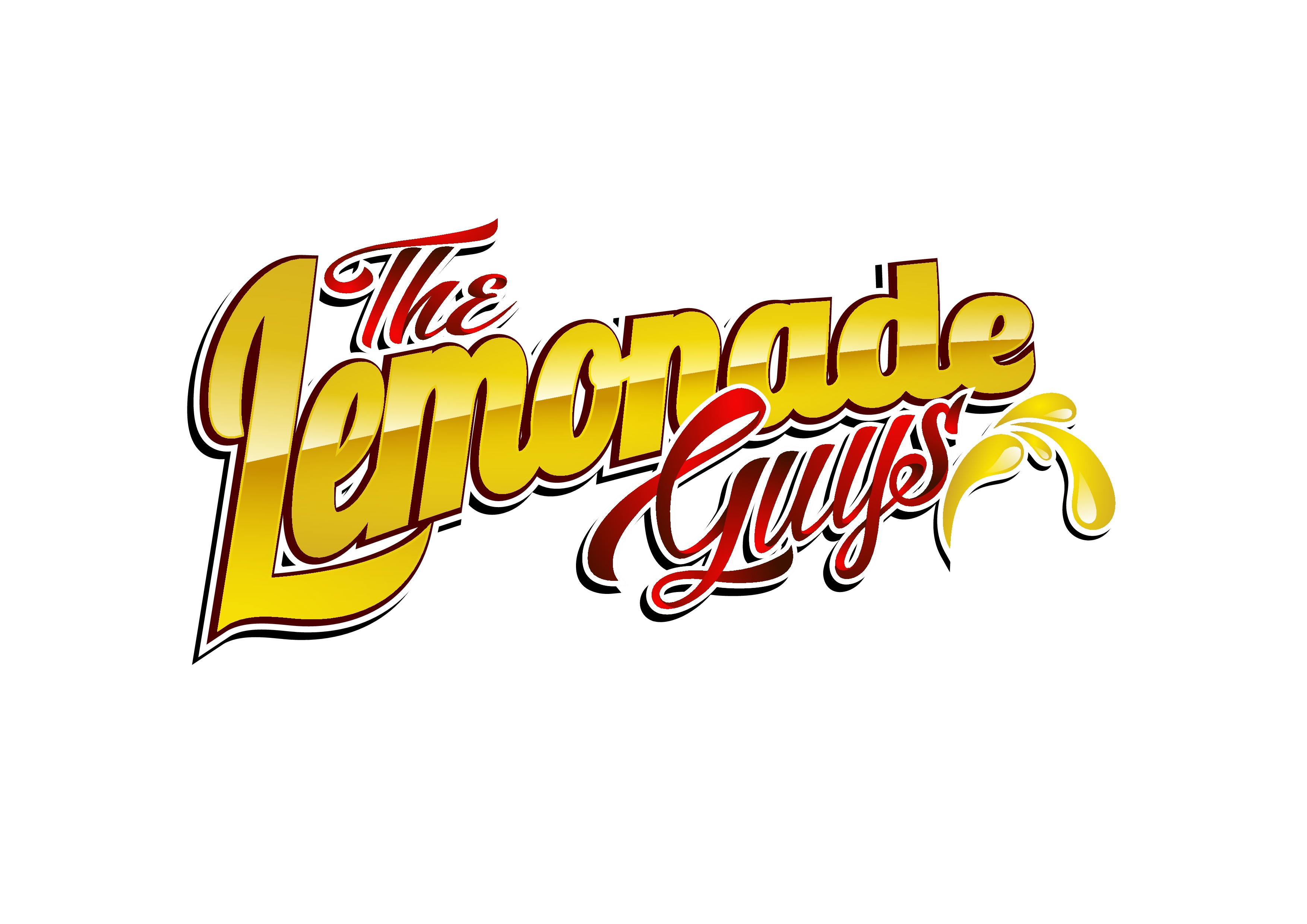 "Create a creative high profile E-liquid Label for ""The Lemonade Guys"""