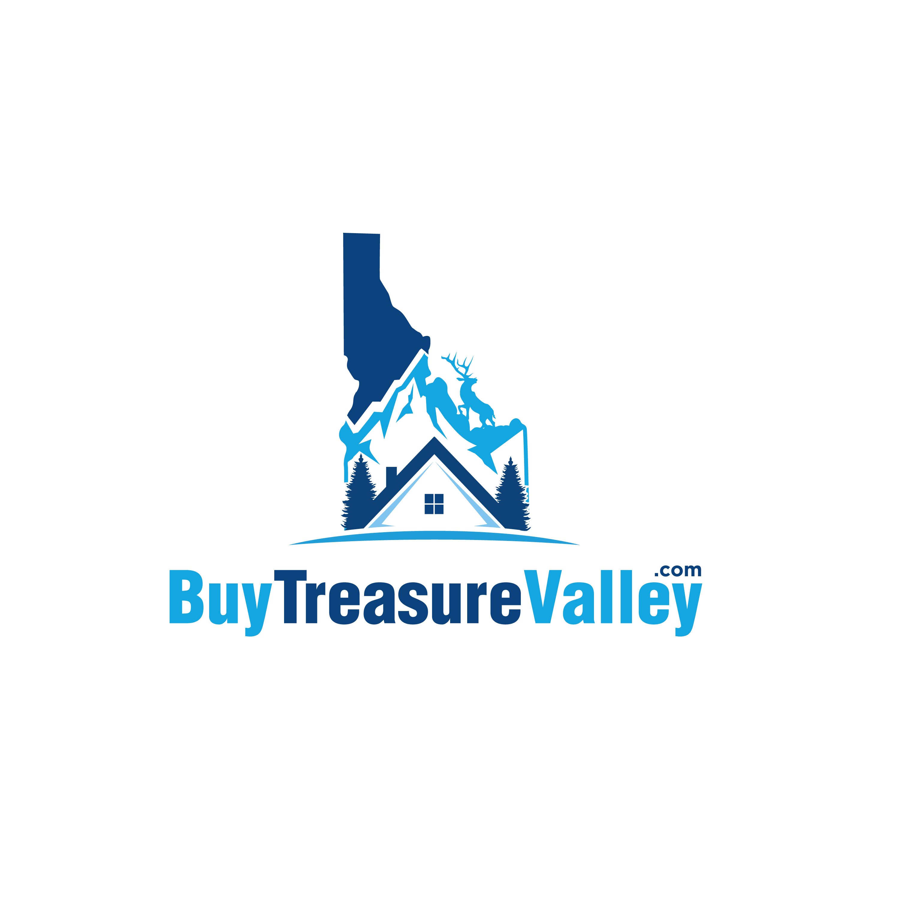 LOGO for NEW REAL ESTATE Agent in Scenic Treasure Valley Idaho