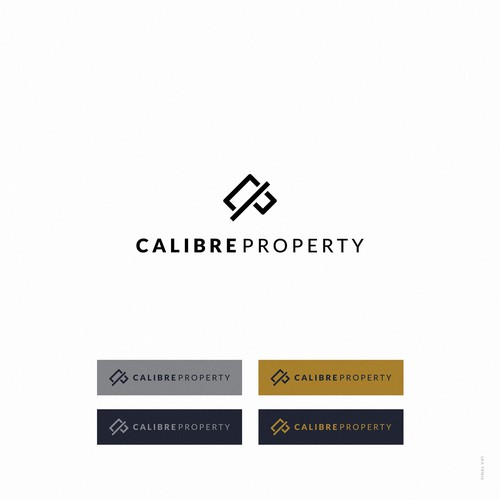 Logo design for Calibre Property