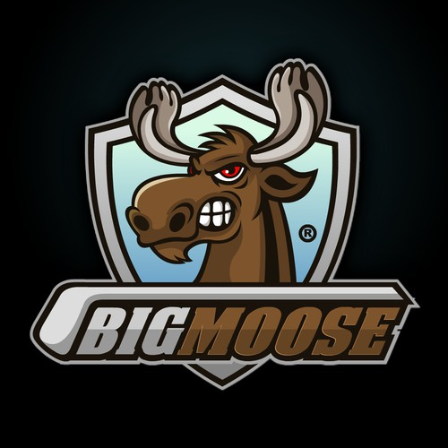 Big Moose Hockey Logo