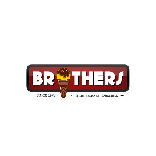 logo for Brothers International Desserts