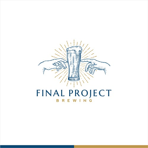 Logo for Final Project Brewing