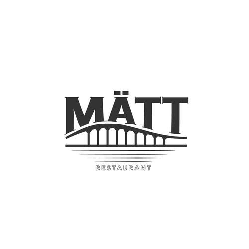 Logo concept for a restaurant in Sweden