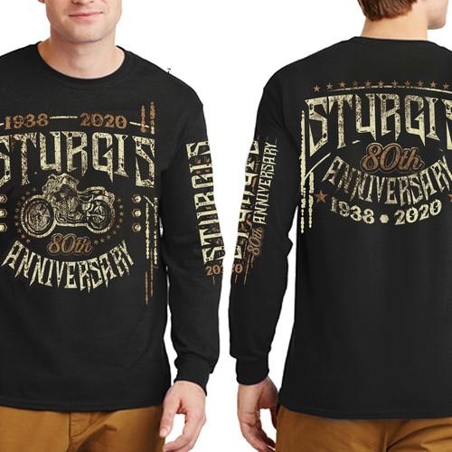 Sturgis 2020 T-Shirt Design 80th Anniversary