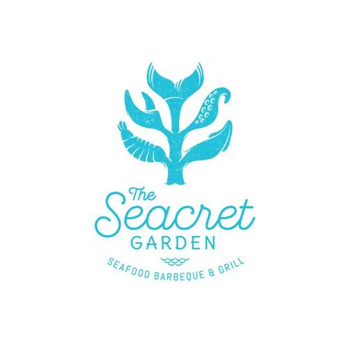 Logo concept for The Secret Garden