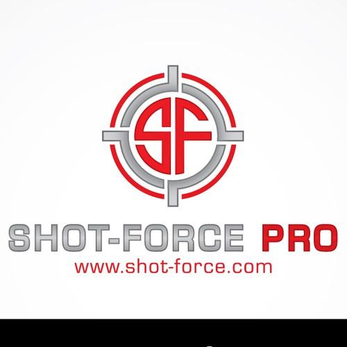 logo for shot force pro
