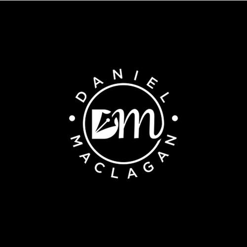 Fresh logo design for author