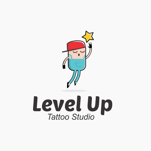 Pop culture style logo for Tatoo Studio