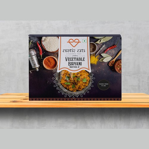 Box Design For Biryani
