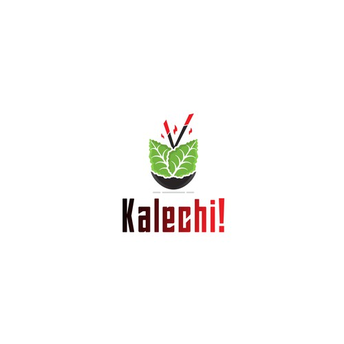 "Logo for a New Food Product ""Kalechi"""