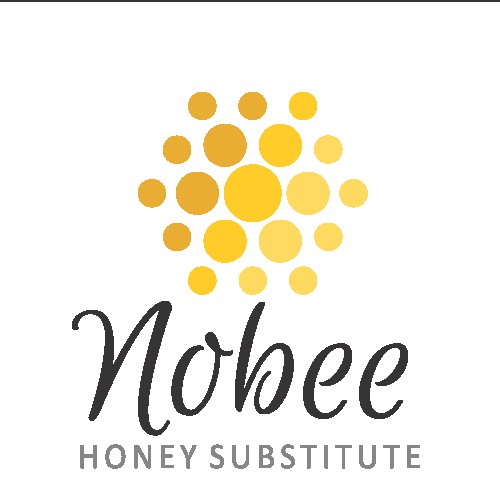 Create a brand design for Nobee honey replacement sweetener
