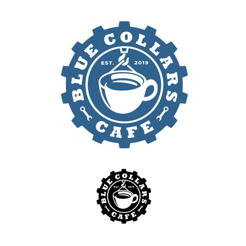 Blue Collars Cafe Logo
