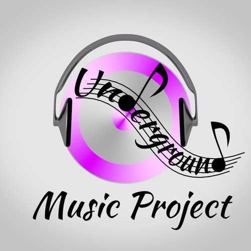 underground music project needs a new logo