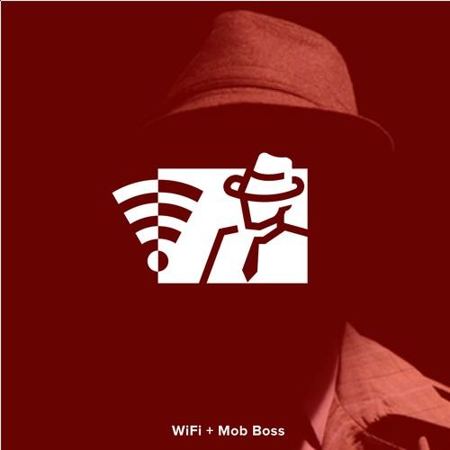 Mafia Mobster Logo