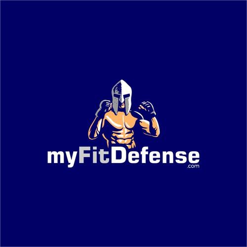 Logo Design for myFitDefense
