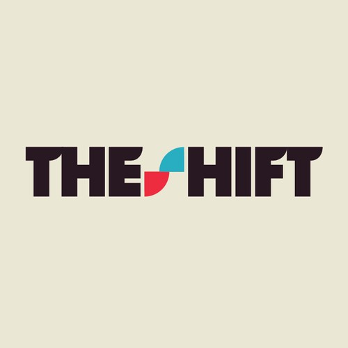 Font/type based logo for The Shift