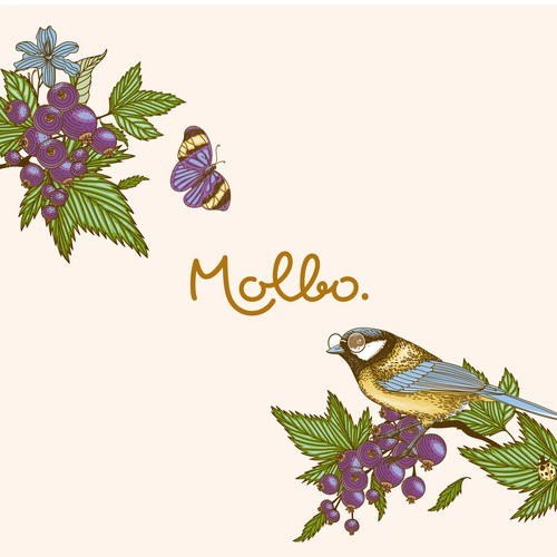 Molbo Logo and Label design