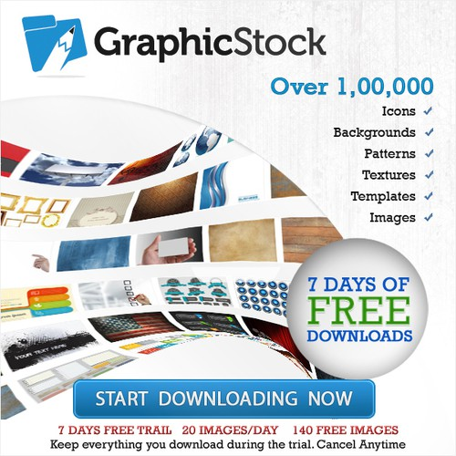Create a banner for GraphicStock.com