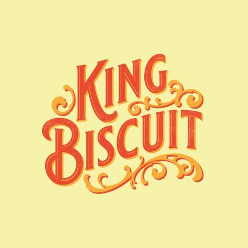 Logo design for King Biscuit
