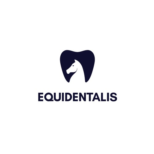 Equidentalist Negative Space Logo