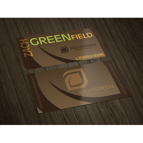 Bussines card Zach Greenfield
