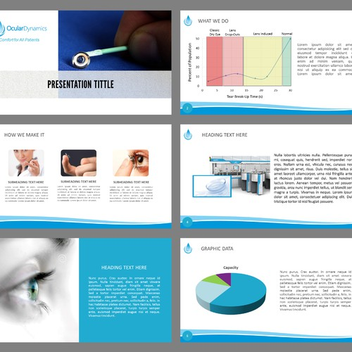 Powerpoint Template for Innovative Medical Device Company