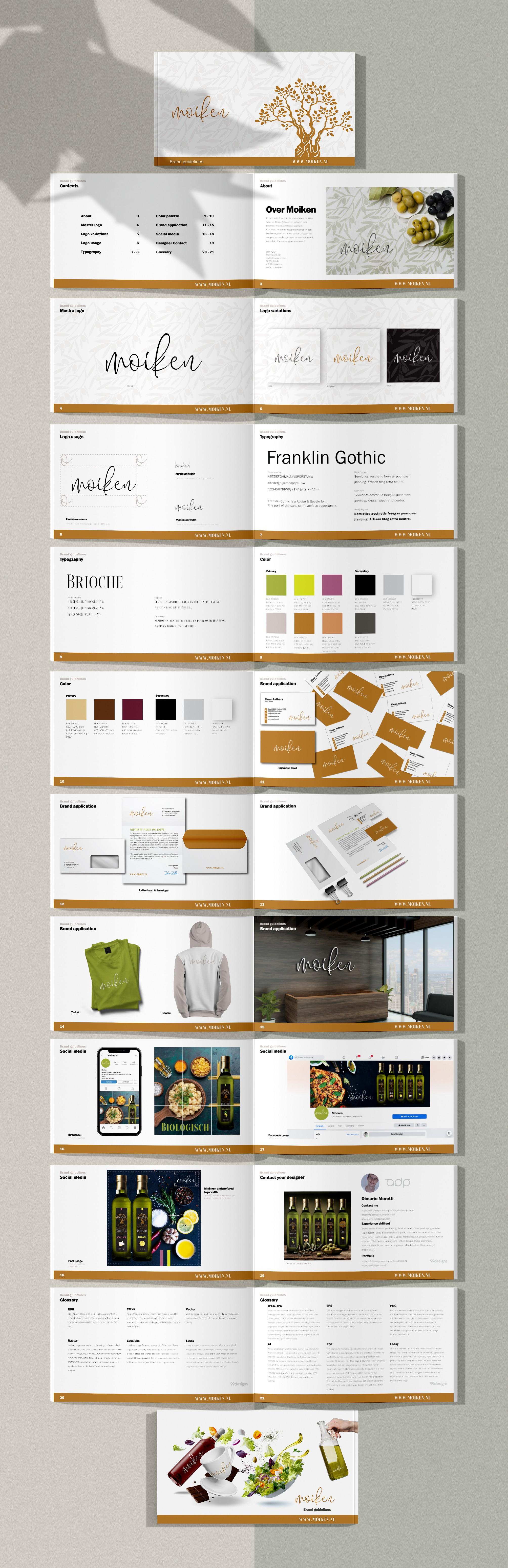 Brand Guide Moiken