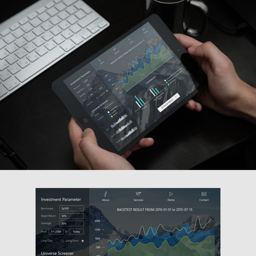 Stock Review Ipad Concept