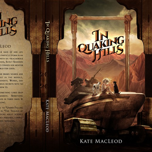 Cover Illustration and Design for In Quaking Hills