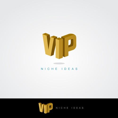"How cool can you write the word ""VIP""?"