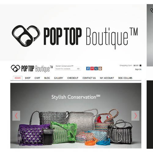 Create logo for PopTop Boutique™