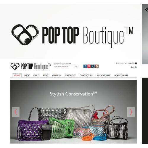 Create logo for PopTop Boutique™