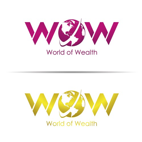 Bold Logo Concept for WOW
