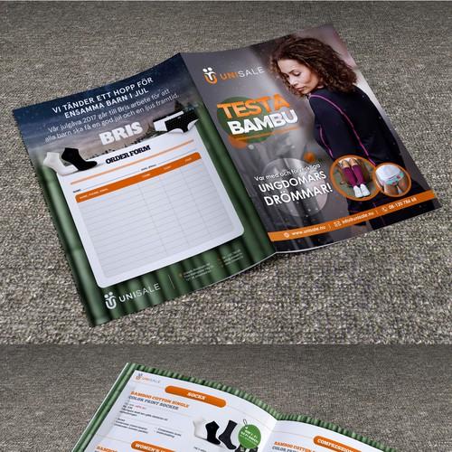 bamboo broschure
