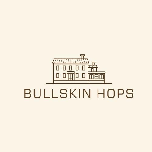 Bullskin Hops Icon Line art