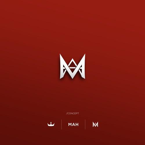 A  Personal logo of  initials MAH.