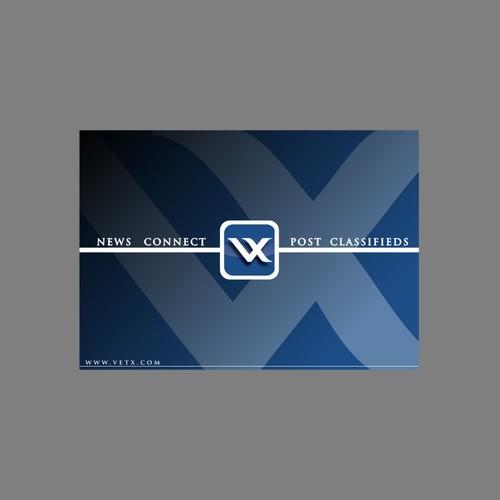 flyer design for vetx.com