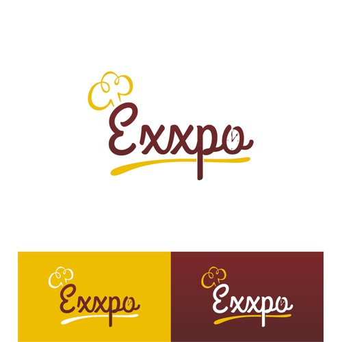 Create a elegant and subtly unique logo for Exxpo