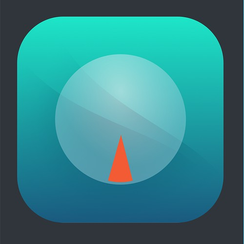 modern icon for a Weight Tracker app entry