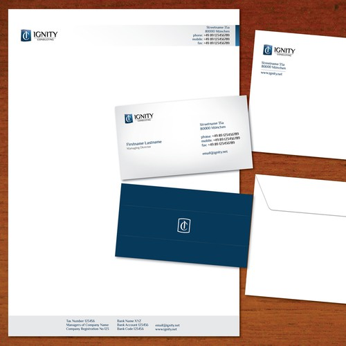 Ignity Consulting Stationary