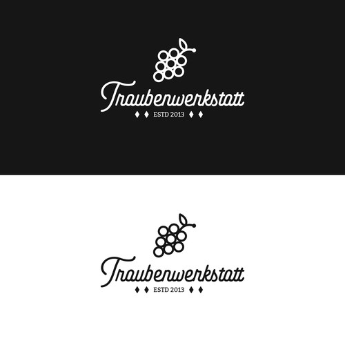 Minimalistic Logo for a winery