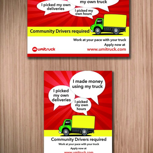 ★★★ ON DEMAND DELIVERY FLYER! ★★★