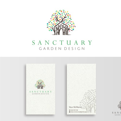 Logo design for garden design company