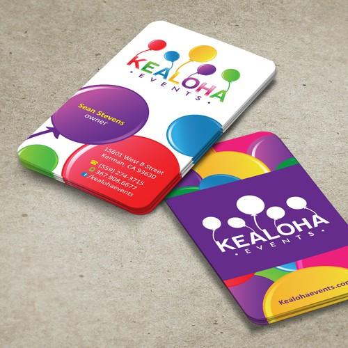 Kealoha Events needs a new stationery