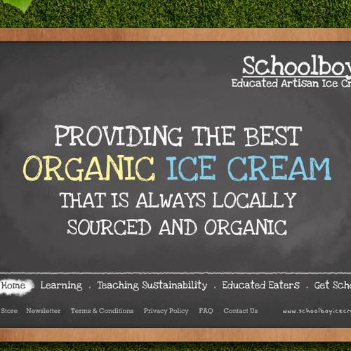 Schoolboy Ice Cream Needs An A+ Website