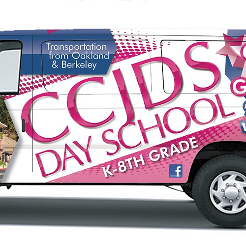 School Van Wrap Design