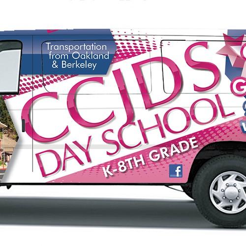 School Van Wrap Design