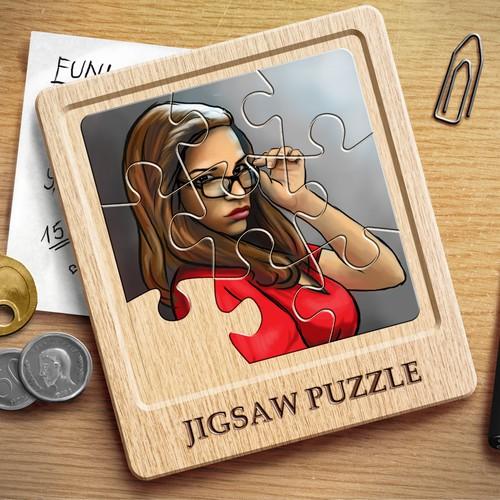 Splash image for jigsaw puzzle app